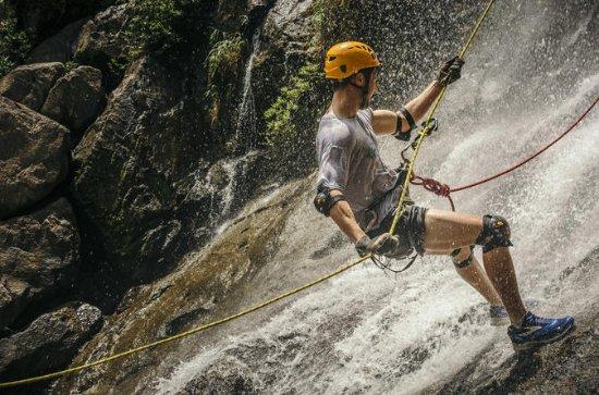 Wasserfall Abseilen und Zipline...