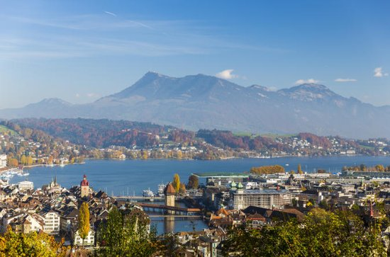 Lucerne Morning City Walk med en ...