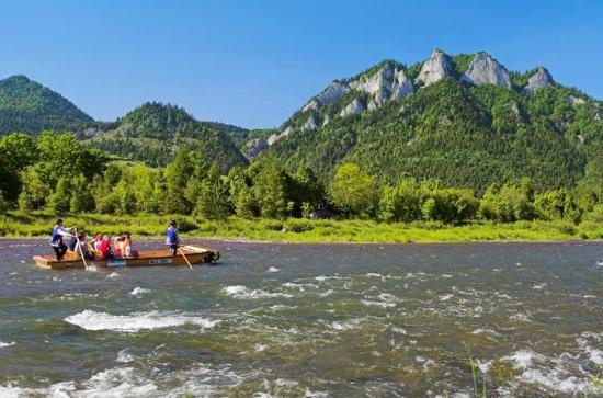 Excursão de meio dia a Rafting no rio...