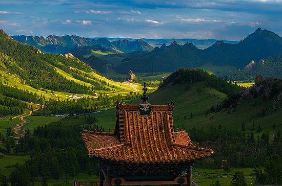 2つの国立公園と清渓山像新鮮なモンゴルでの複雑なツアー