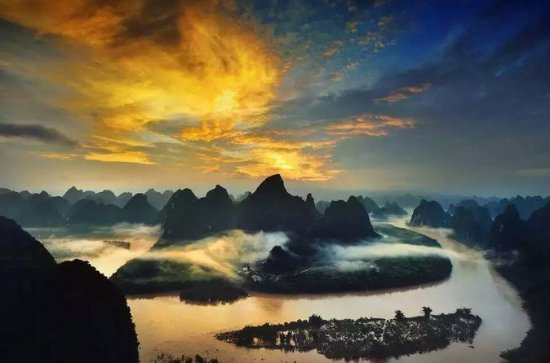 2-night Combo Package: Sunrise Photo of Yangshuo and Longsheng Rice...
