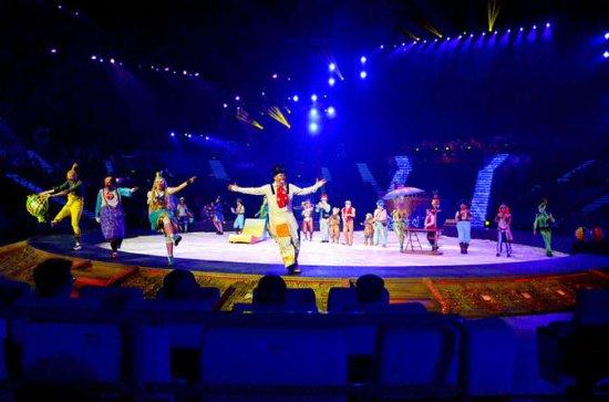 Zhuhai Chimelong Hengqin Theatre Circus Evening Tour
