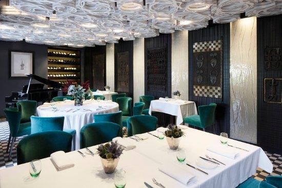 Hotel Bergs: ResturantBergs