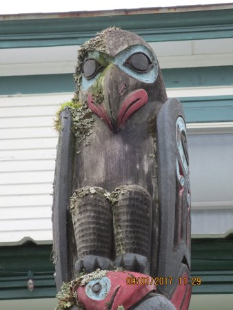 Haines, AK: Outside a couple doors downs from Alaskan Indian Arts