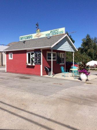 Tonasket, Вашингтон: coffee stop