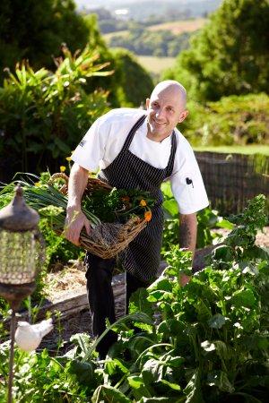 Brooklet, Australia: Organic garden