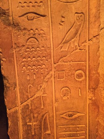 Rosicrucian Egyptian Museum: There is a Key deciphering symbols