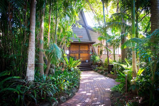 Brooklet, Australia: Retreat entrance