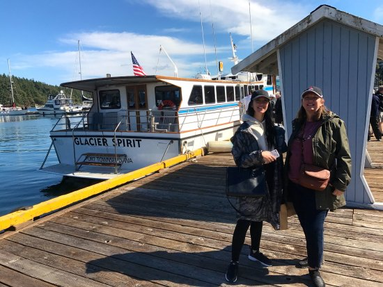 Port Townsend, WA: Friday Harbor lunch time