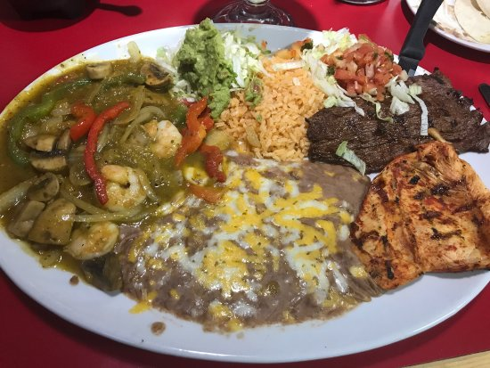 Medford, OR: 3 Amigo Plate. Might take three friends to eat it.