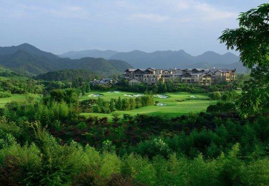 Anji County, Cina: Exterior - Aerial View
