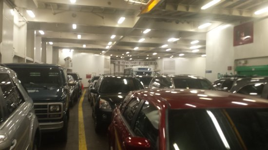 Port Hardy, Canada: Room for 430 vehicles of all sizes