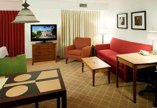 Westford, MA: One-Bedroom Suite Living Room