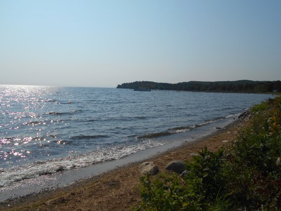 Brainerd, Миннесота: Western shore of Mille Lacs Lake
