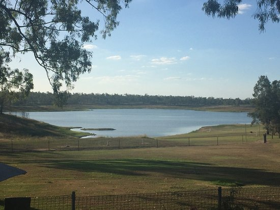 Laidley, Australia: A little low, still a great place to be. Lots of fish hiding in there!