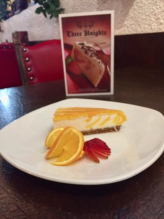 Drayton Valley, Canada: Orange Creamsicle Cheesecake