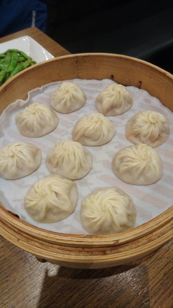 Superb dumplings, and fun to watch them made!