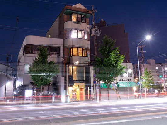 J-Hoppers Kyoto Guest House Resmi