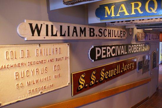 Lake Superior Maritime Visitor Center: Ausstellungsstücke