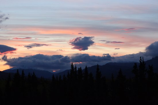 Wasilla, AK: One of the magnificent sunsets