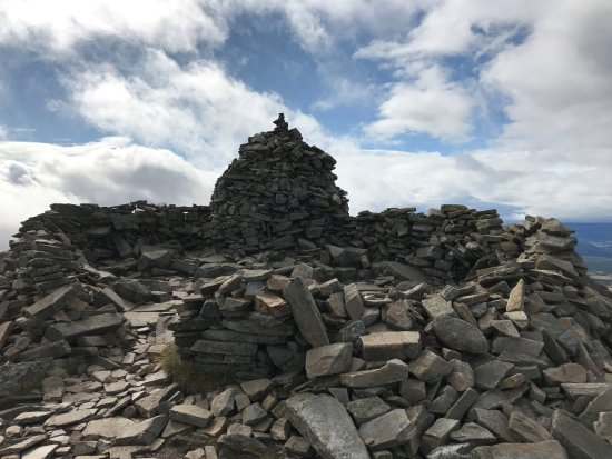 Aviemore, UK: Walked up Meall a' Bhuachaille 810m