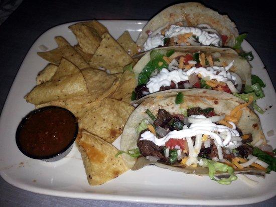 Mount Prospect, IL: three steak tacos