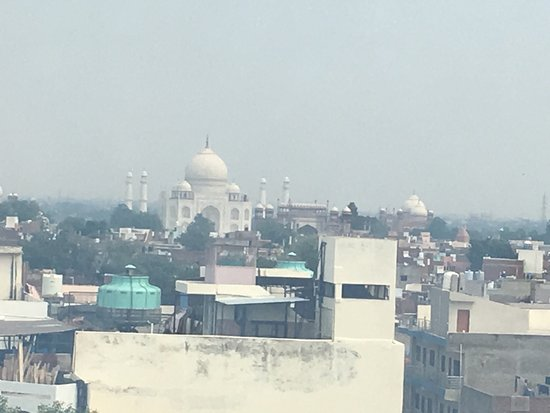 The Gateway Hotel, Fatehabad Road, Agra: Room view of the Taj Mahal