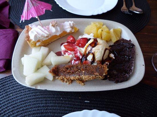Mexilhoeira Grande, Portekiz: Desert en koffie na