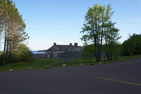 Grand Portage, มินนิโซตา: Der Gebäudekomplex