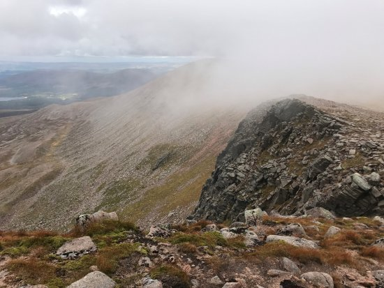 Aviemore and the Cairngorms, UK : Nice hikes.