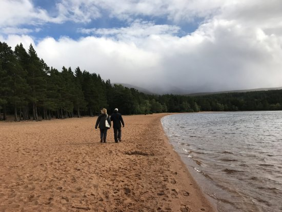 Aviemore and the Cairngorms, UK: Sandy beaches.