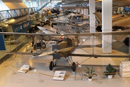 Suomen Ilmavoimamuseo: vue d'ensemble