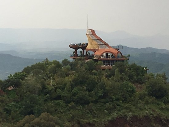 Ben Abeba restaurant, espectaculares vistas 360º, comedor interior y exterior