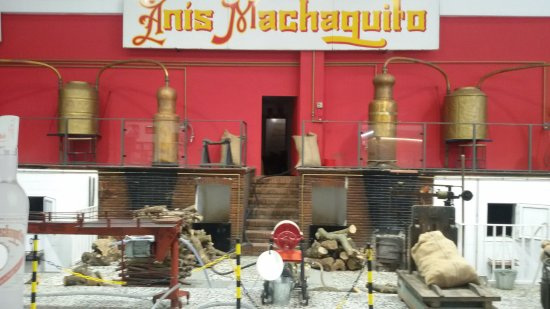 Ρούτε, Ισπανία: Visita a Destilería Anís Machaquito