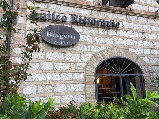 Antico Ristorante Biagetti: Assisi