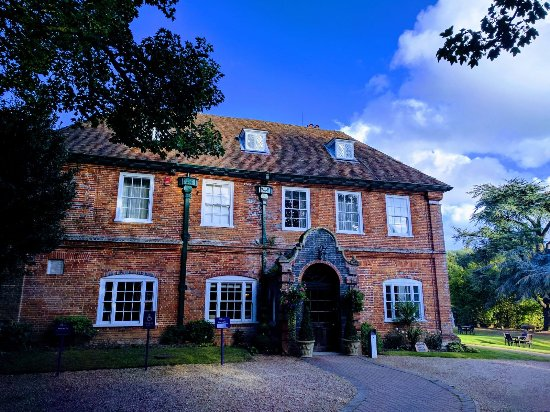 Sutton Scotney, UK: the manor house