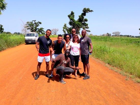 Mbour, Sénégal : le senegal en famille et en petite comité