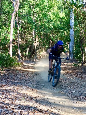 Bike N Hike Adventure Tours: bump track half day ride