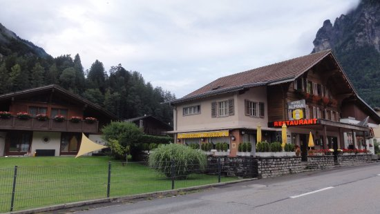 Innertkirchen, Sveits: Restauracja