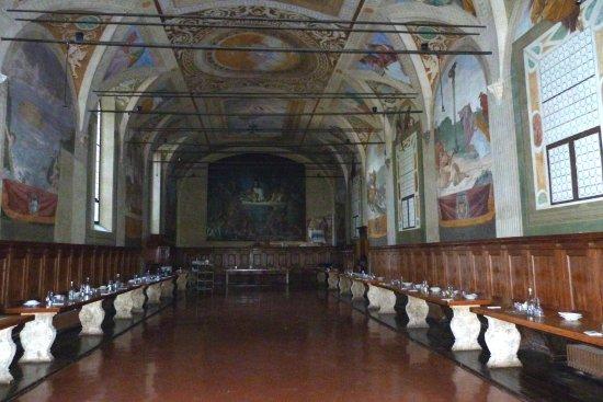Ашиано, Италия: Monte Oliveto Maggiore (refettorio)