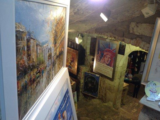 Saint-Paul de Vence: Galerie d'art