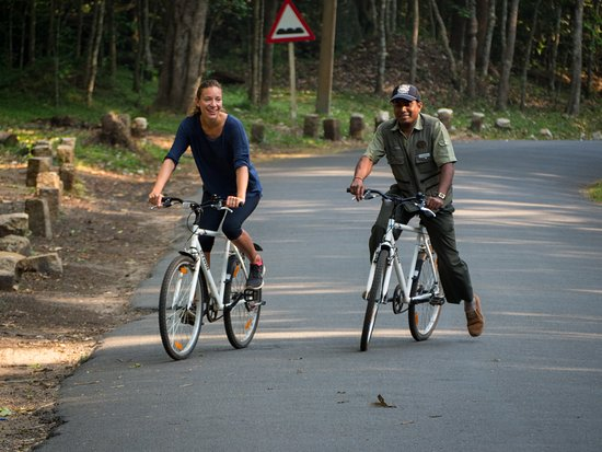 Spice Village : Cycling with our Naturalist.