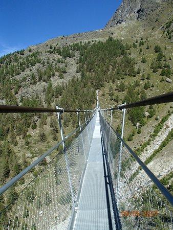 Randa, سويسرا: The bridge at Randa