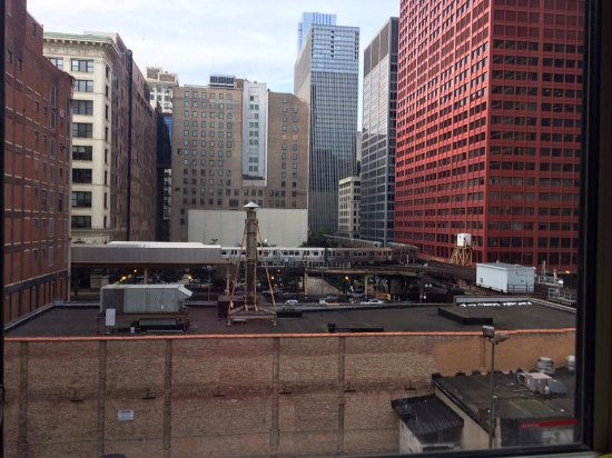 Hostelling International Chicago: view from my room