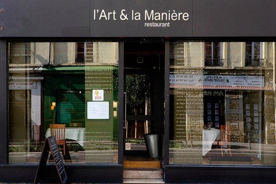 Restaurant l 39 art et la maniere dans lyon avec cuisine for Art de la cuisine francaise