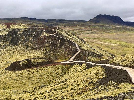 Bifrost, Ισλανδία: Crater