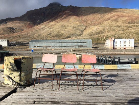 Pyramiden, Norway: Vista Porto