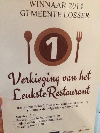 De Lutte, Paesi Bassi: Leuke waardering van onze gasten uit de gemeente Losser