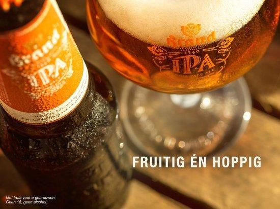 De Lutte, Paesi Bassi: Speciaalbierenkaart met meer dan 25 soorten van tap en fles