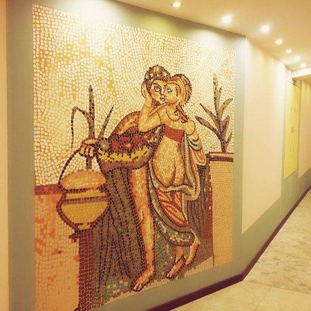 Villa Nicolli Romantic Resort: Entrata Spa e zona Wellness